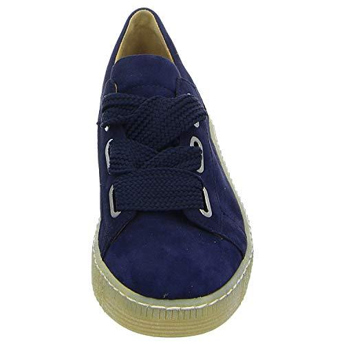 Gabor Bleu de Femme Chaussures à pour Lacets Ville AWZAcrSw0q