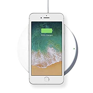 Belkin Boost Up Wireless Charging Pad 7.5W – Wireless Charger Optimized for iPhone X, 8, 8 Plus, Compatible with Any Qi-Enabled Device from Samsung, LG, Sony and More (Certified Refurbished) from Belkin Inc.