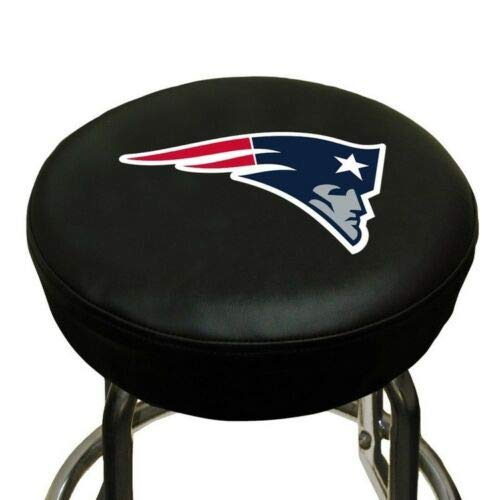 Lovely999 NFL New England Patriots Bar Stool Modern Design Cover Bars,Strong and Comfortable Material