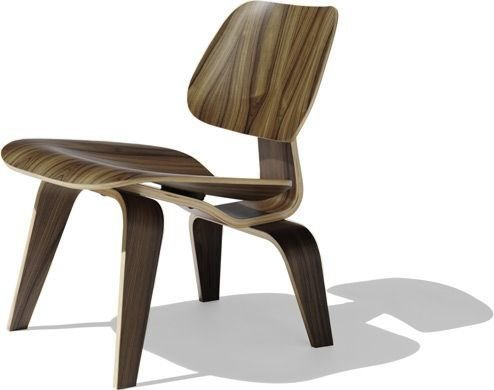 Used, Nicer Furniture ™ Eames inspired LCW Modern Lounge for sale  Delivered anywhere in USA
