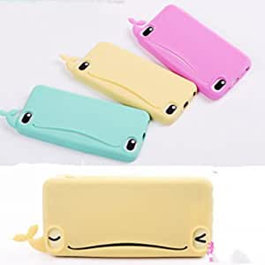 XIDAJE iPhone 4 Latest Whale Rubber Card Pack Soft Cover