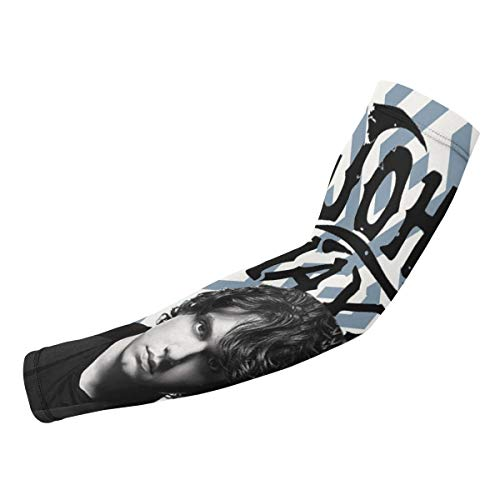 SuraphonSuphunthuchatz Unisex Mens Women Youth & Adult John Mayer Fashion Music Band UV Sun Protection Arm Supports Arm Sleeves Arm Guard for Basketball Gift