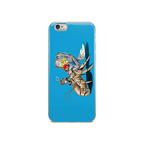 (iPhone 6/6s Case Anti-Scratch Creature Animal Transparent Cases Cover No Place Like Home Colour Animals Fauna Crystal Clear)