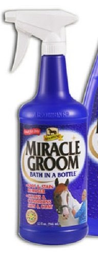 Absorbine 32 Fl Oz Miracle Groom Bath in a Bottle Spot and Stain Remover Cleans and Conditions No Watr Needed