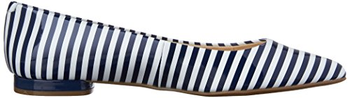 Nine White Plat Synthetic Pointy Onlee Toe West Synthã©tique navy rawq4Frz