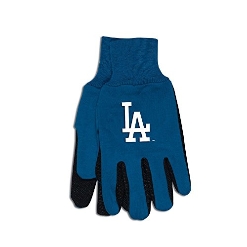 Los Angeles Dodgers Gear - MLB Los Angeles Dodgers Two-Tone Gloves, Blue/Black