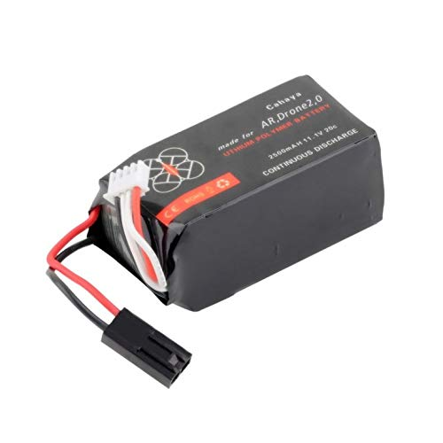 11.1V 2500mAh 20C Li-po batería para Parrot AR.Drone 2.0: Amazon ...
