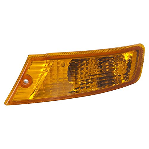 CarPartsDepot, Driver Left Side Amber Turn Signal Marker Light Parking Lamp LH, JP30066A1L CH2520143 55156767AD (Driver Front Turn Signal Light)