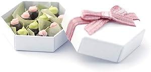 Melody Jane Dollhouse Hexagonal Box of Chocolates Miniature 1:12 Gift Shop Food Accessory