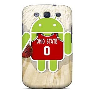 PhilHolmes Samsung Galaxy S3 Durable Hard Phone Case Provide Private Custom Beautiful Ohio State Pictures [rlx15384NRew]