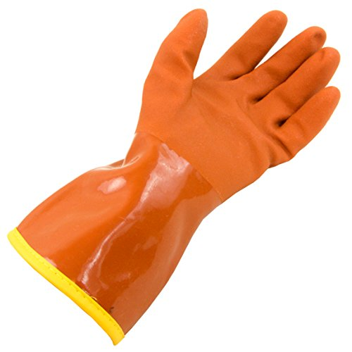 ow Blower PVC Glove, Orange, Small (Atlas Snowblower)