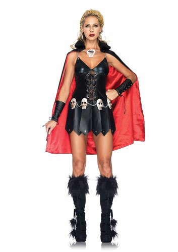 Warrior Woman Adult Costume - Small/Medium