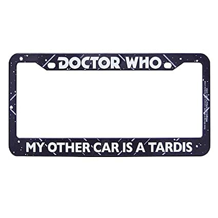 Amazon.com: Doctor Who My Other Car is a Tardis License Plate Frame ...