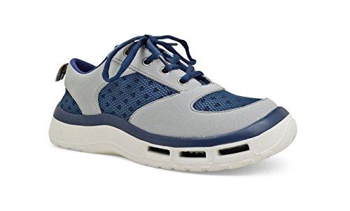 SoftScience Womens Fin 3.0 Boating Shoe Blue