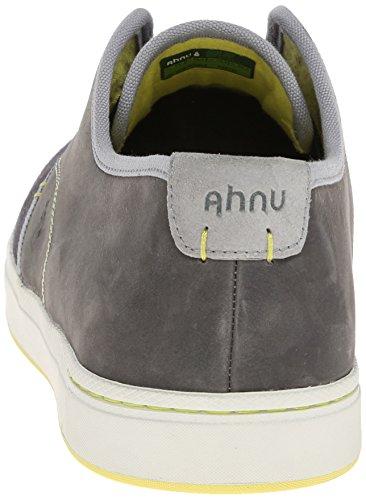 Ahnu Mens North Beach Läder Slip-on Loafer Mörkgrå