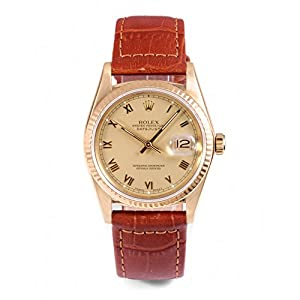 Rolex Datejust automatic-self-wind mens Watch 16018 (Certified Pre-owned)