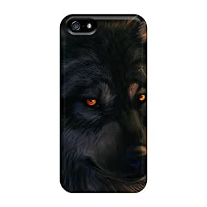 phone covers Case Cover The Stare Of A Wolf/ Fashionable Case For iPhone 5c