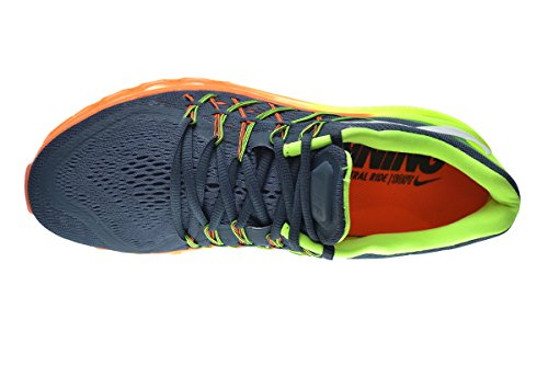 more photos 34fee f9eac Nike Air Max 2015 Men s Running Shoes Classic Charcoal White-Volt-Total  Orange 698902-002 (10 D(M) US)