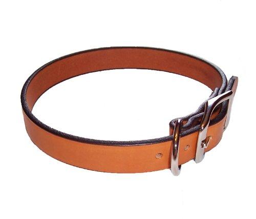 Leather Town Collar - Tan