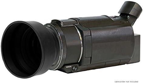 Rubber Collapsible Design FDR-AX53 Digital Lens Hood