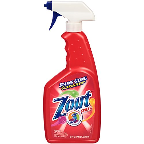 Zout Triple Enzyme Formula Laundry Stain Remover Spray, 22 O