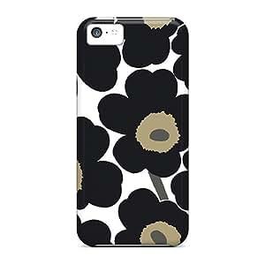 Lmf DIY phone caseAwesome GoldenArea Defender Tpu Hard Case Cover For iphone 6 4.7 inch- Black FlowersLmf DIY phone case