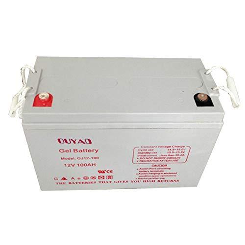 Batteria gel a scarico lente Campeggio Car Barca 12 V 100 Ah OUYAD