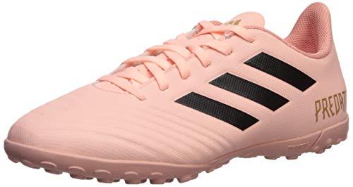 adidas Men's Predator Tango 18.4 Turf Soccer Shoe, Black/Clear Orange, 10.5 M - Shoes Turf Black Soccer
