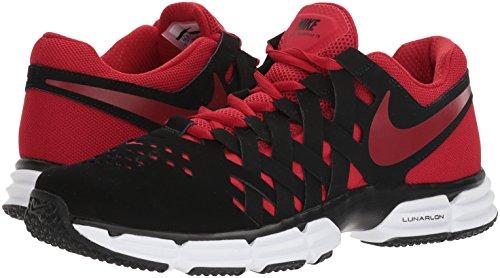 NIKE Fingertrap de Black Red para Rojo Hombre Gym Negro TR Deporte Zapatillas Lunar wwrB5qH