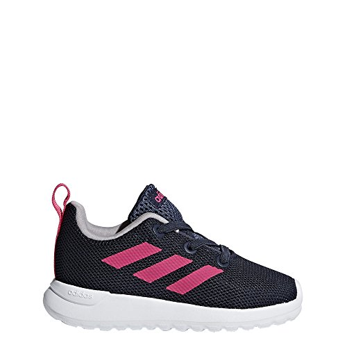 new products 8d1c4 e419a adidas Kids  Lite Racer Clean Sneakers, Trace Blue Shock Pink Footwear White