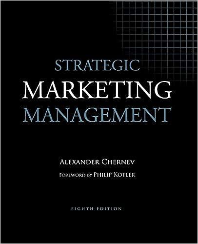 Strategic Marketing Management Alexander Chernev Pdf