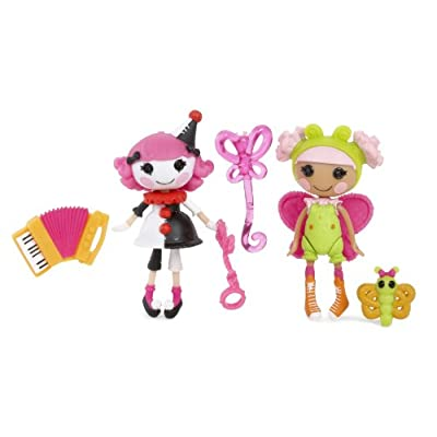 Lalaloopsy Mini Fun House Charlotte and Blossom, Pack of 2: Toys & Games