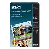 Epson Presentation paper. 100 SHEET 13X19 A3 MATTE PHOTO QUALITY 720DPI INKJE...