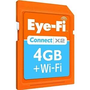 Eye-Fi Connect X2 4 GB SDHC 802.11b/g/n Wireless Flash Memory Card