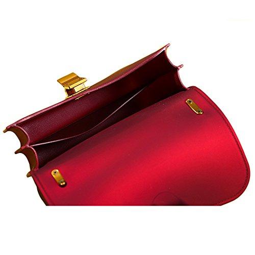à à Main Grey Bandoulière Sac Messenger Sac Bag Mat à Femmes à à Dames Sac Bandoulière Sac Bandoulière Bandoulière KYOKIM Embrayage Sac 1YcqCR4x
