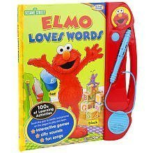 Sesame Street Activepoint Book: Elmo Loves Words by Publication International