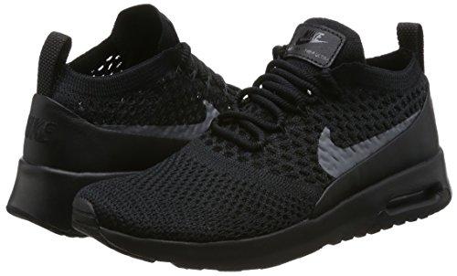 Thea Flyknit Scarpe Nike Donna Nero Basse Grey dark Da Max Ginnastica Air black Ultra qfwAAIE