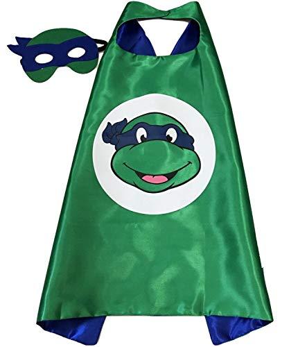 FAJ Child Superhero or Princess Costume Cape and Mask, Halloween -