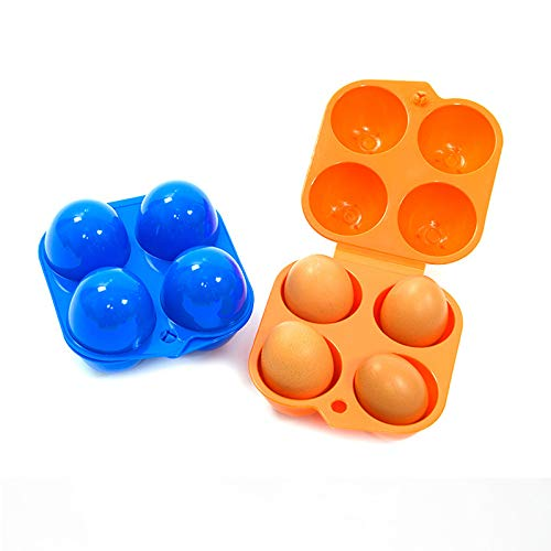 TOOGOO Camping Egg Box Plastic Egg Box Egg Storage Box Portable Egg Box 4 Egg Box by TOOGOO (Image #2)