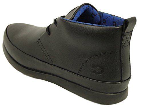 Mens Leather Shoes Nicholas Deakins Rufus Black Designer Smart Formal Boots Erp3nkH
