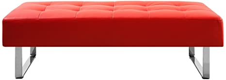 Cool Amazon Com Whiteline Modern Living Bn1085P Red Occasional Pabps2019 Chair Design Images Pabps2019Com