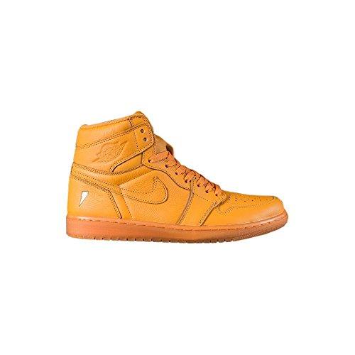 Nike Air Jordan Retro 1 Hi Gatorade Orange Peel/Orange Peel (11 D(M) - Air Nike Jordans Authentic