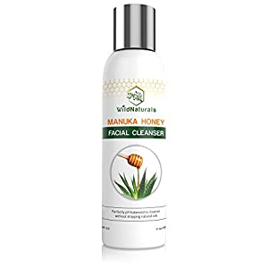 Wild Naturals Face Wash, Perfectly pH Balanced To Not Strip Natural Oils, 4 oz