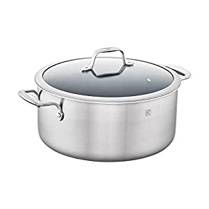 ZWILLING Spirit 3-ply 8-qt Stainless Steel Ceramic Nonstick Stock Pot