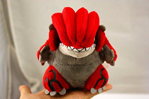 "Pokemon Center Pokedoll 6"" Groudon Stuffed Animal Plush Doll Toy"
