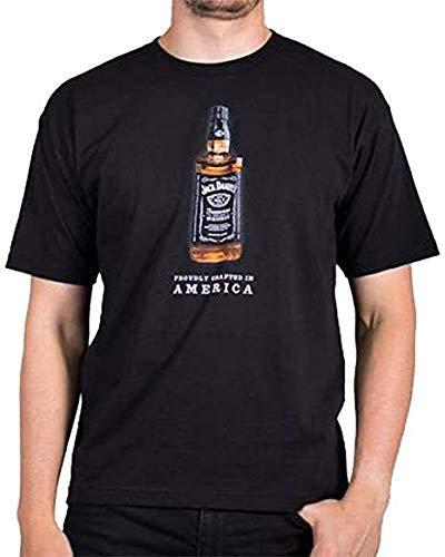 Jack Daniels Men's Bottle T-Shirt Black -
