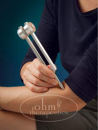Ohm Therapeutics Mid Ohm Tuning Fork Kit 136.1 Hz Including Latex-Free Tuning Fork Activator - Includes 5 Panel Instructional Booklet - Tuning Forks For Healing & Sound Healing by THERE'S NO PLACE LIKE OHM