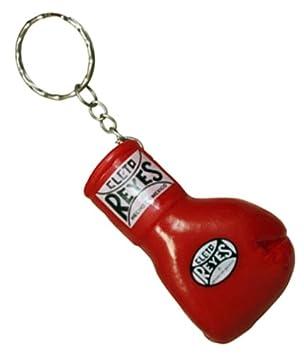 Cleto Reyes guantes de boxeo de goma llavero - rojo: Amazon ...