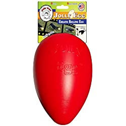 Jolly Pets 12-Inch, Jolly Egg , Red