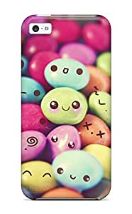 New Premium Brahodes Cute Chocolate Candies Skin Case Cover Excellent Fitted For Iphone 5c